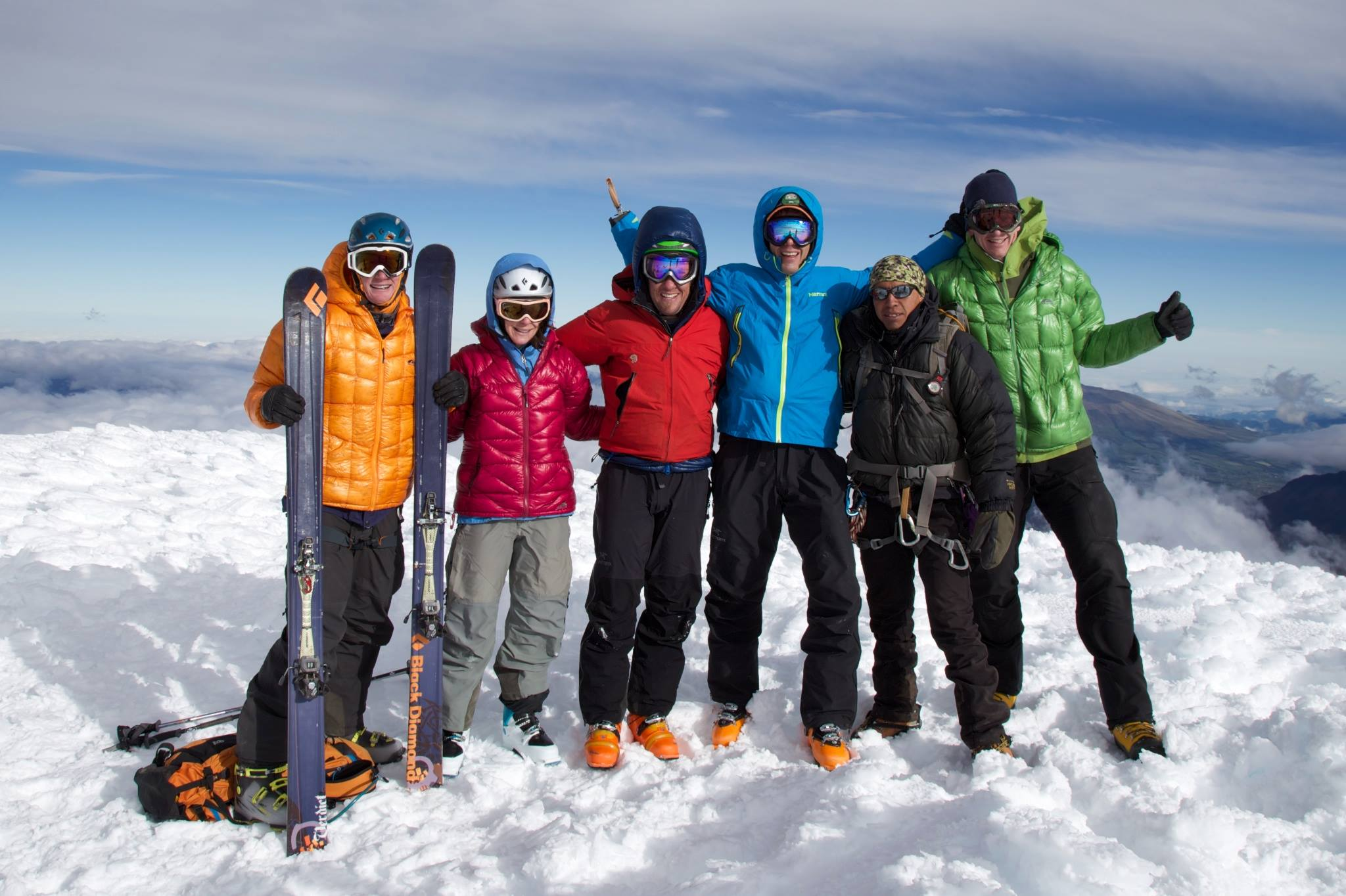 Team-on-Cotopaxi-Summit